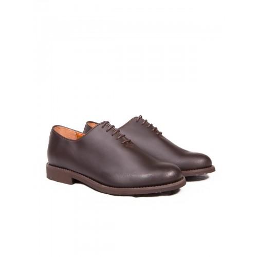 Zapato Mod: 252 para polainas con cordones suela goma