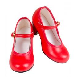 Zapato flamenca piel sintética.