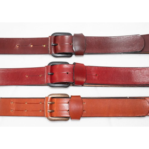 Cinturón artesanal piel