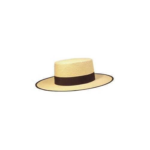 Sombrero cañero Panama.