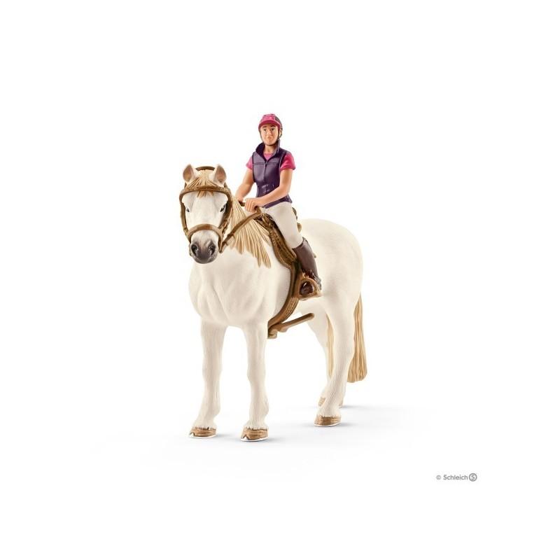 Amazona aficionada con caballo Schleich. - Equitacion del Andevalo c3f053deefd
