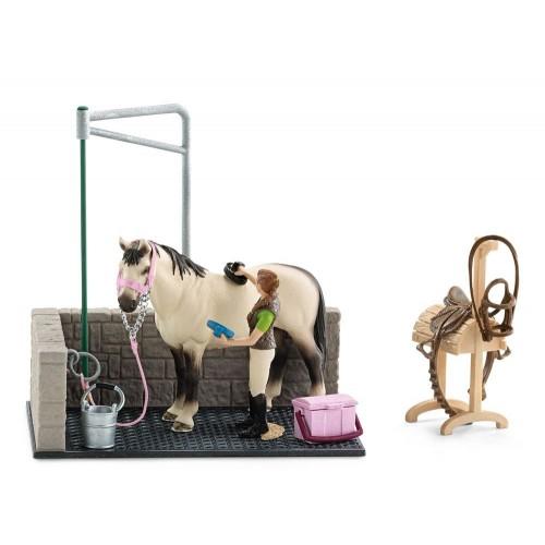 Lavadero de caballo Schleich