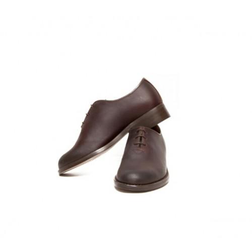 Zapato polaina con cordones