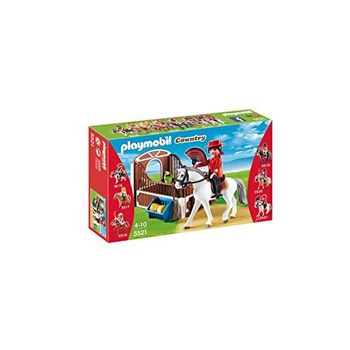 Caballo Andaluz con Establo Playmobil