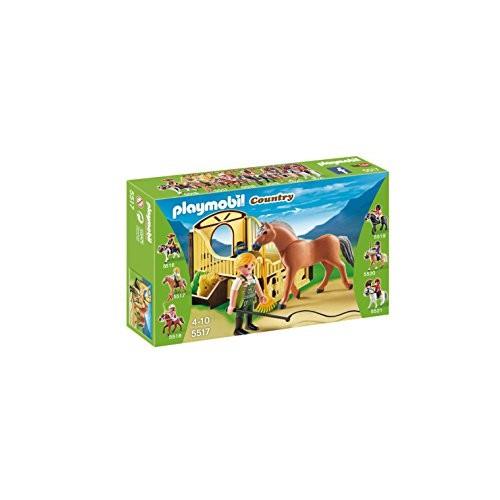 Caballo Fiordo Noruego con establo Playmobil