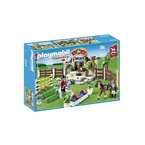 Competicion de caballos Playmobil