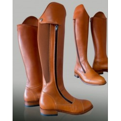 Bota Boxcalf natural.