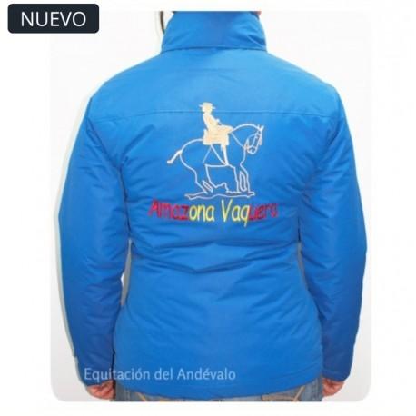 Parkas (Chaqueta) Doma Vaquera bordado en espalda Equitacion del Andevalo